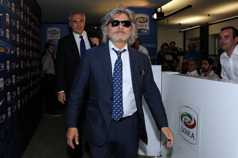 Sampdoria, Ferrero napoletano per una sera: