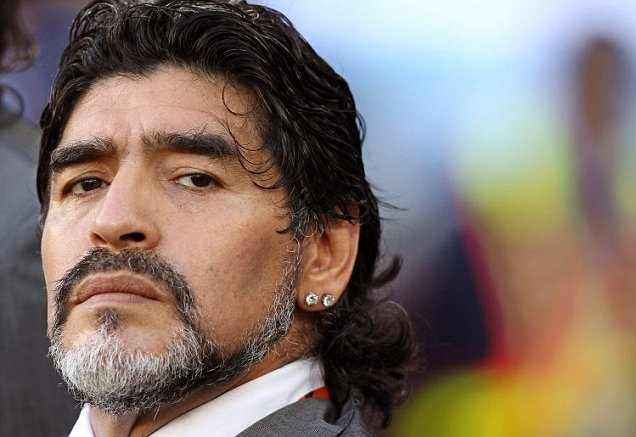 Diego Maradona in Italia: