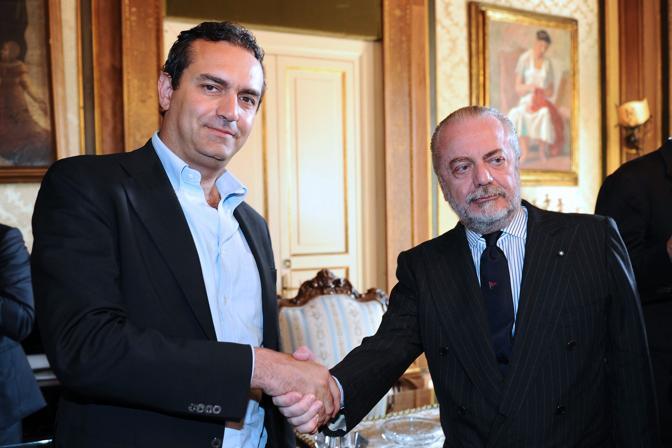 De Laurentiis vuole Casa Napoli ad Agnano