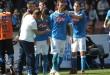 Gabbiadini gol Napoli-Verona