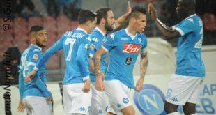 Higuain gol Napoli Napoli-Atalanta