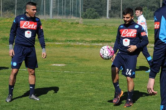 Napoli, Sarri verso l'Udinese: ampio turnover e spazio per tutti