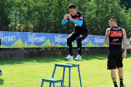 Napoli all'esame Udinese: Gabbiadini dà forfait, Callejon recupera