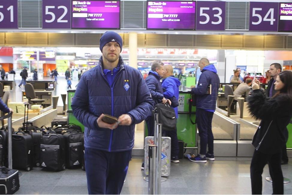 Disordini a Napoli prima del match con la Dinamo Kiev