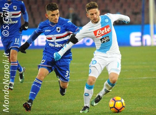 Sarri provoca Inter e Juventus dopo la vittoria contro la Sampdoria