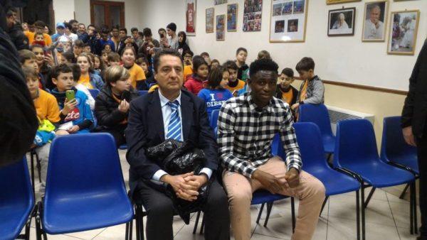 Diawara incontra i calciatori del futuro