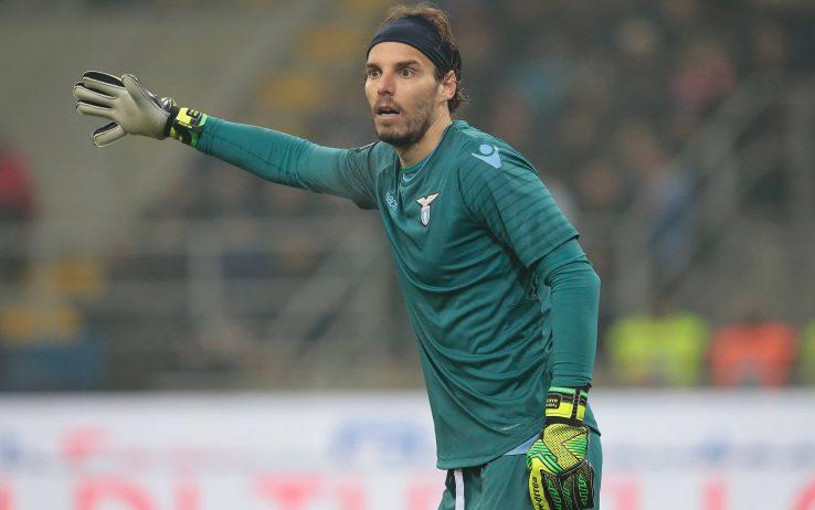 Lazio, calvario per Marchetti: lesione del legamento collaterale
