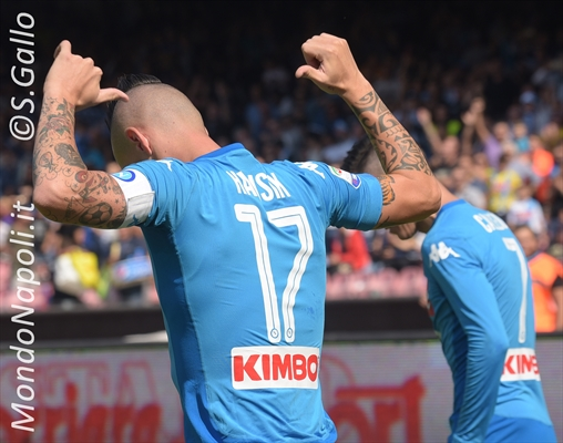 Hamsik, Diego è alle spalle: gol 116, record assoluto