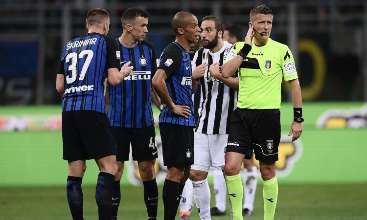 Inter-Juventus, furia Antonello: