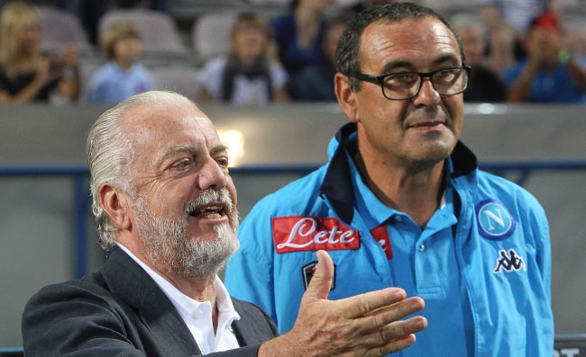 Napoli, Sarri pronto a ripensarci se il presidente l'accontenterà!